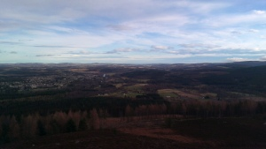 Banchory from Scolty