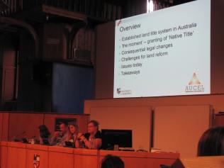 Professor Tina Hunter, looking at land reform in Australia.