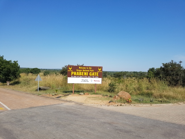 Phabeni Gate sign